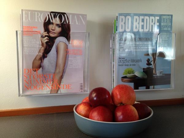 Nomess magasinholdere til dine yndlings magasiner