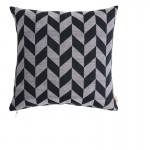 Floor cushion - black and gray