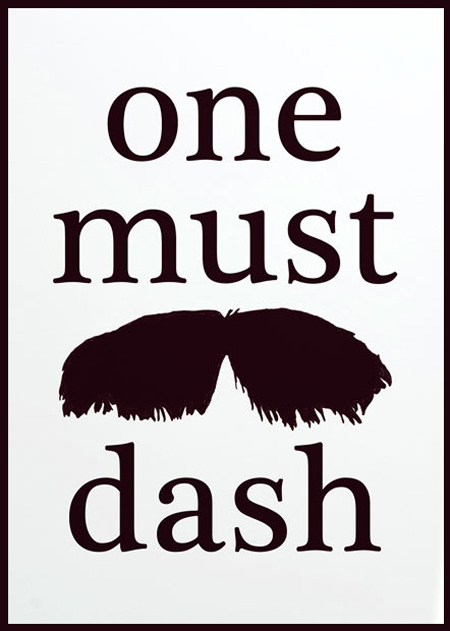 one-must-dash
