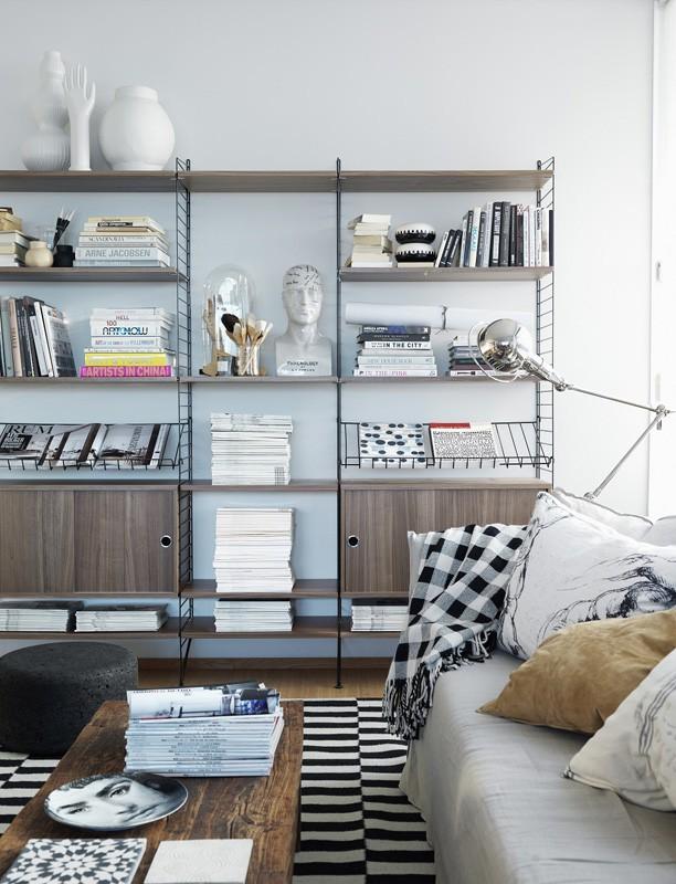fem fede reolsystemer. Black Bedroom Furniture Sets. Home Design Ideas