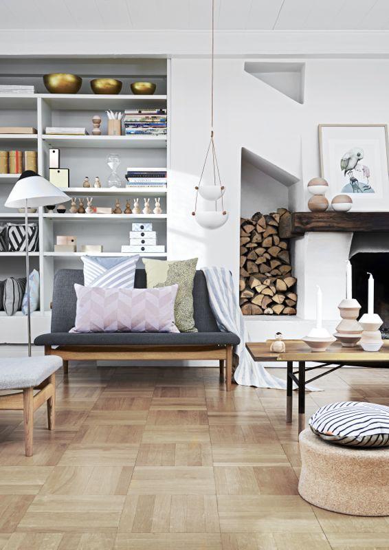 FÃ¥ et inspirerende hjemmekontor i din stue