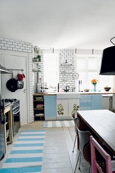 En grafisk bolig med skønne DIY idéer