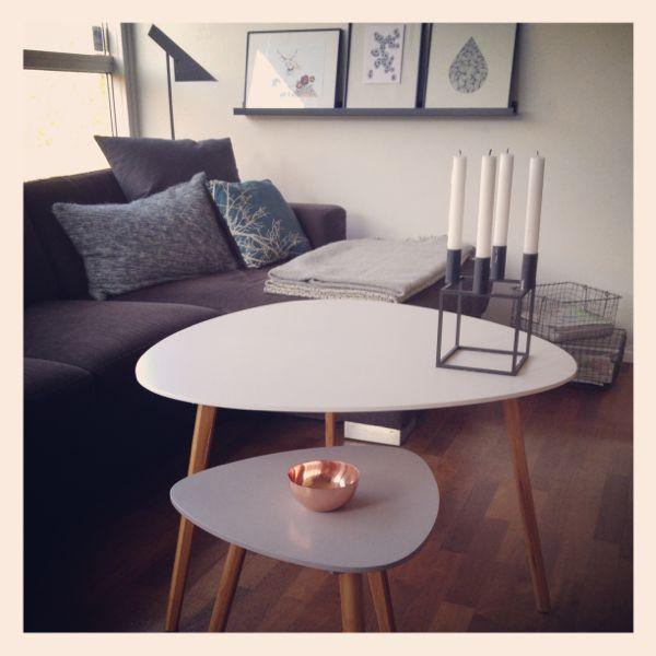 Nye sofaborde :)