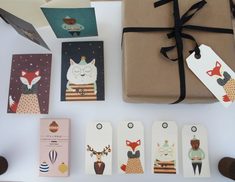 Lucie kaas-julekort-boligblog.com