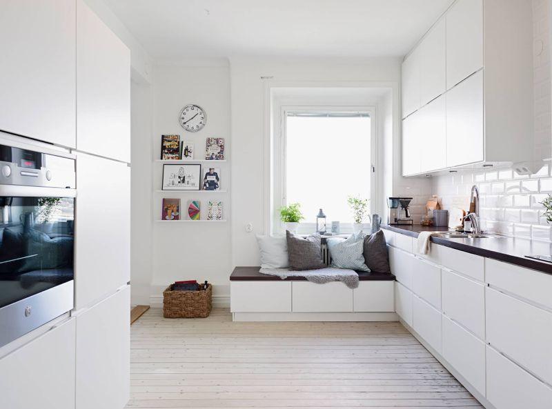 Lækkert hjem med gode skabsløsninger