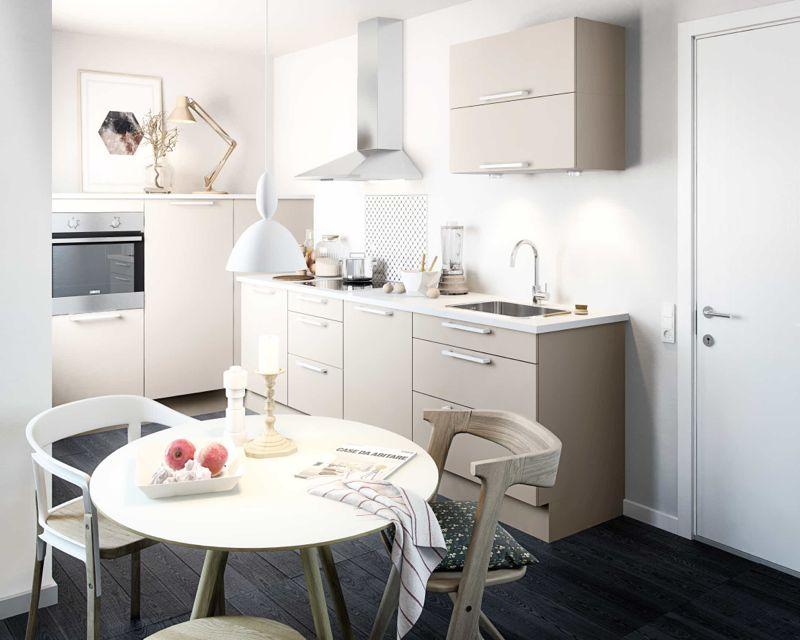 Store drømme, små køkkener