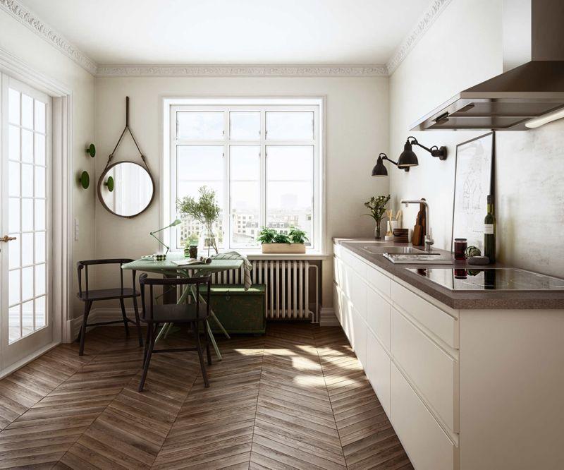 Det enkle funktionelle køkken