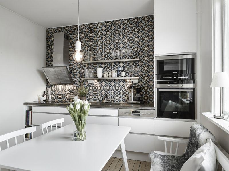 Cool lys nordisk bolig